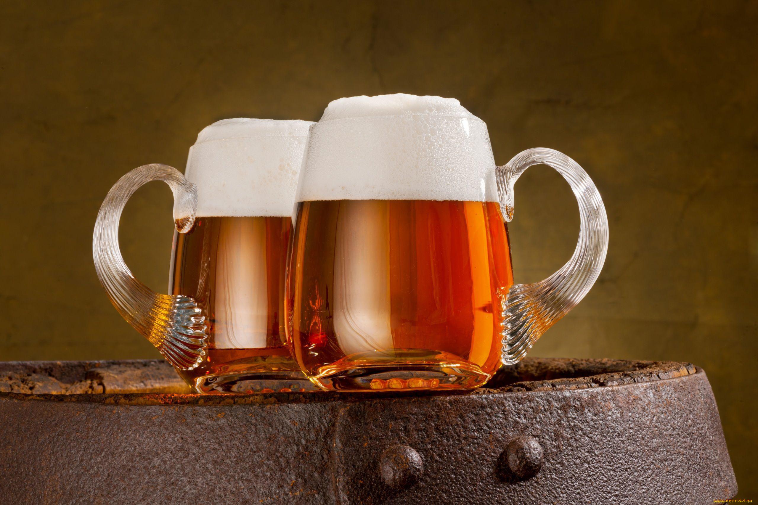 Красивое фото пиво в бокале